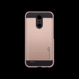 LG K8 (2017) - Gumiran ovitek (ARM-01) - roza-zlat
