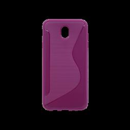 Samsung Galaxy J7 (2017) - Gumiran ovitek (TPU) - vijoličen CS-Type