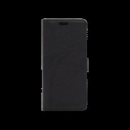 Huawei Y6 (2017) / Y5 (2017) - Preklopna torbica (WLG) - črna