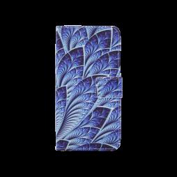 Sony Xperia L1 - Preklopna torbica (WLGP) - Blue leafs