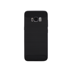 Samsung Galaxy S8+ - Gumiran ovitek (TPU) - črn A-Type