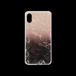 Apple iPhone X - Gumiran ovitek (TPUP) - Marble 1