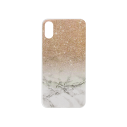 Apple iPhone X - Gumiran ovitek (TPUP) - Marble 2