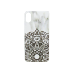 Apple iPhone X - Gumiran ovitek (TPUP) - Marble 3