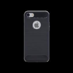 Apple iPhone 7/8 - Gumiran ovitek (TPU) - črn A-Type