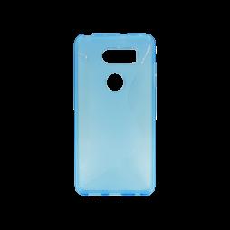 LG V30 - Gumiran ovitek (TPU) - modro-prosojen CS-Type
