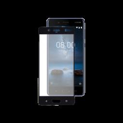 Nokia 8 - Zaščitno steklo Premium (0,33) - črno