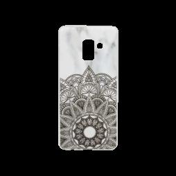 Samsung Galaxy A8 (2018) - Gumiran ovitek (TPUP) - Marble 3