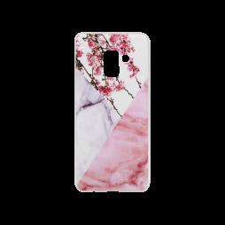 Samsung Galaxy A8 (2018) - Gumiran ovitek (TPUP) - Marble 4