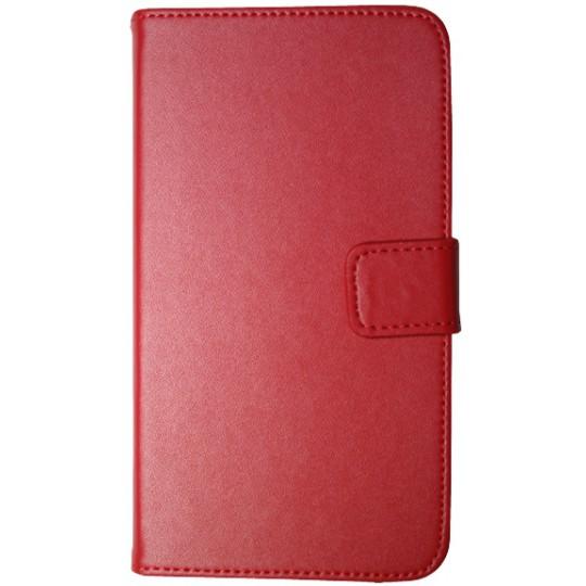 Samsung Galaxy Note 2 - Preklopna torbica (04) - rdeča