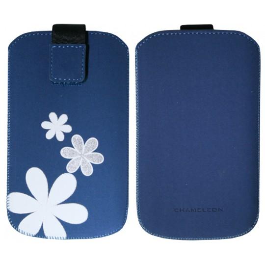 Chameleon Flower 125 x 63 (žepek) - modra