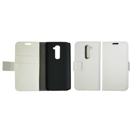 LG G2 - Preklopna torbica (WL) - bela