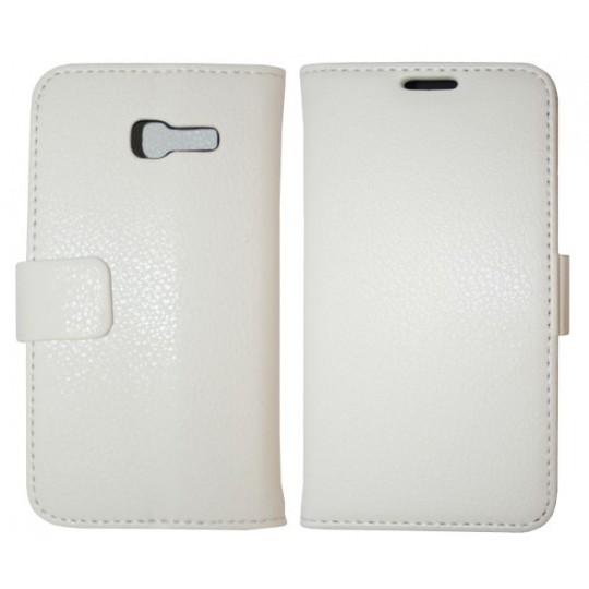 Samsung Galaxy Trend Lite - Preklopna torbica (WL) - bela
