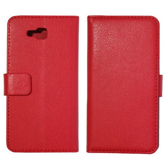 LG Optimus L9 II - Preklopna torbica (WL) - rdeča