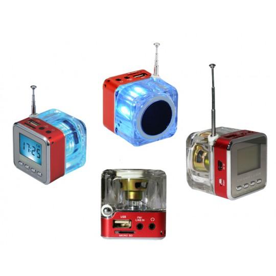 Multifunkcijski zvočnik MP3 (TT028) - rdeča