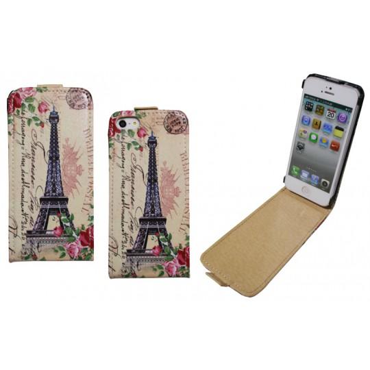 Apple iPhone 5/5S/SE - Preklopna torbica (40) - Paris