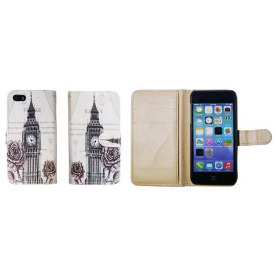Apple iPhone 5/5S/SE - Preklopna torbica (41) - London Big Ben