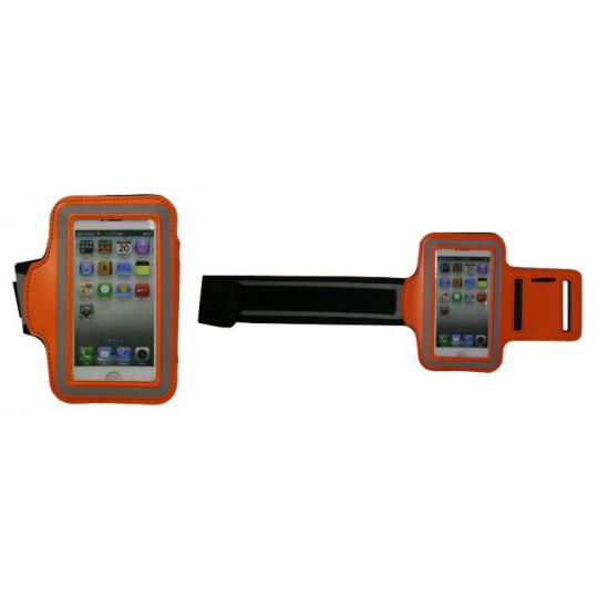 Športna torbica za na roko iPhone 5/5S/5C/SE (PT) - oranžna