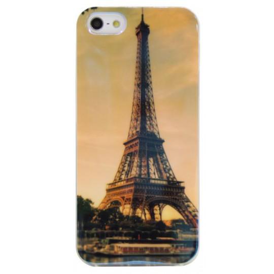 Apple iPhone 5/5S/SE - Gumiran ovitek (TPUPS) - PA1