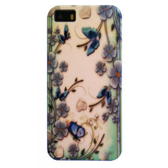 Apple iPhone 5/5S/SE - Gumiran ovitek (TPUPS) - RM1