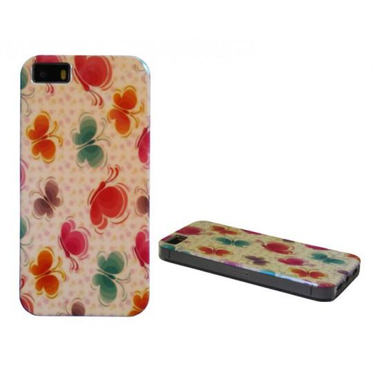 Apple iPhone 5/5S/SE - Gumiran ovitek (TPUPS) - ME1