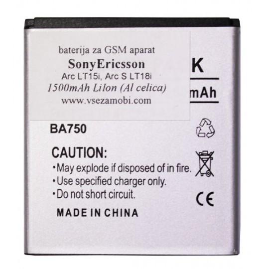 SonyEricsson Arc - baterija