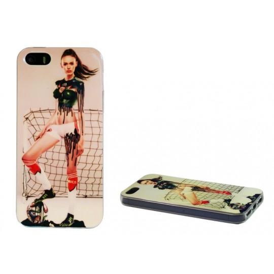 Apple iPhone 5/5S/SE - Gumiran ovitek (TPUPS) - DE2
