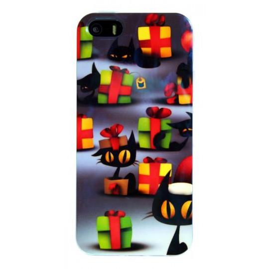Apple iPhone 5/5S/SE - Gumiran ovitek (TPUPS) - MU1