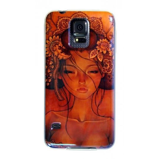 Samsung Galaxy S5/S5 Neo - Gumiran ovitek (TPUPS) - DE1