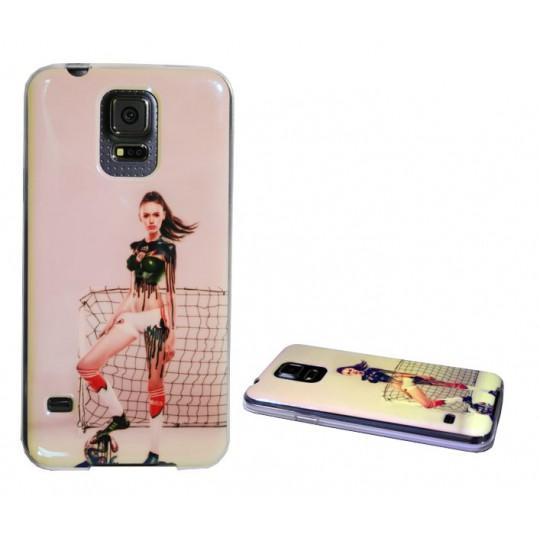 Samsung Galaxy S5/S5 Neo - Gumiran ovitek (TPUPS) - DE2