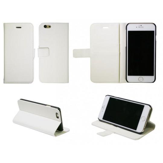 Apple iPhone 6/6S - Preklopna torbica (WL) - bela