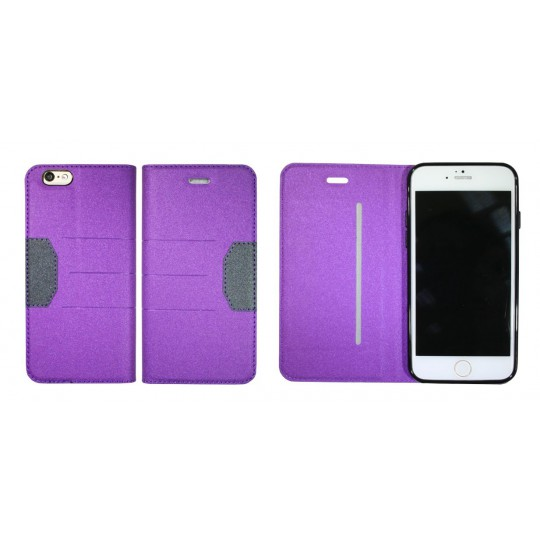 Apple iPhone 6/6S - Preklopna torbica (47G) - vijolična