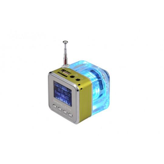 Multifunkcijski zvočnik MP3 - zelena (TT029)