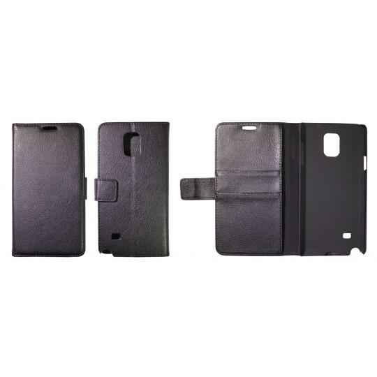 Samsung Galaxy Note 4 - Preklopna torbica (WL) - črna