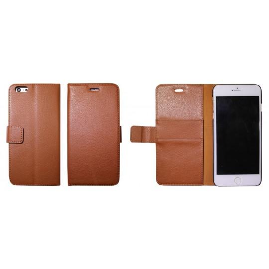 Apple iPhone 6 Plus/6S Plus - Preklopna torbica (WL) - rjava