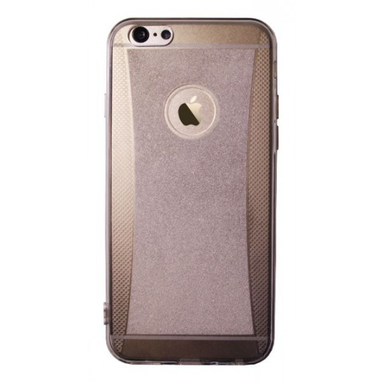 Apple iPhone 6/6S - Gumiran ovitek (19) - siv