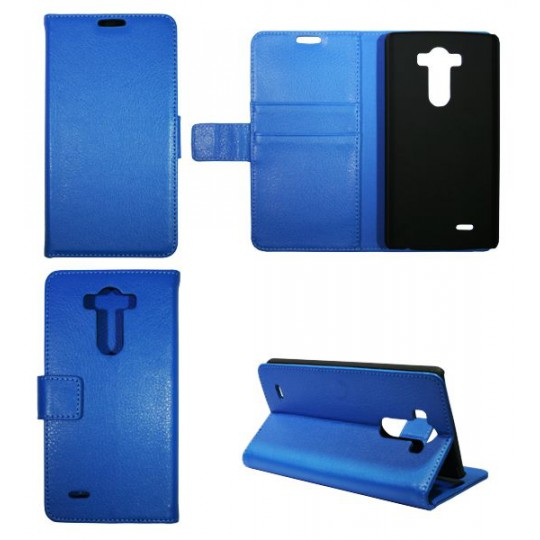 LG G3 S - Preklopna torbica (WL) - modra