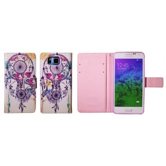 Samsung Galaxy Alpha - Preklopna torbica (WLGP) - Dreamcatcher