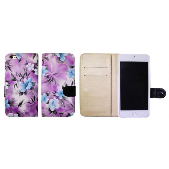 Apple iPhone 6/6S - Preklopna torbica (64) - vijolična