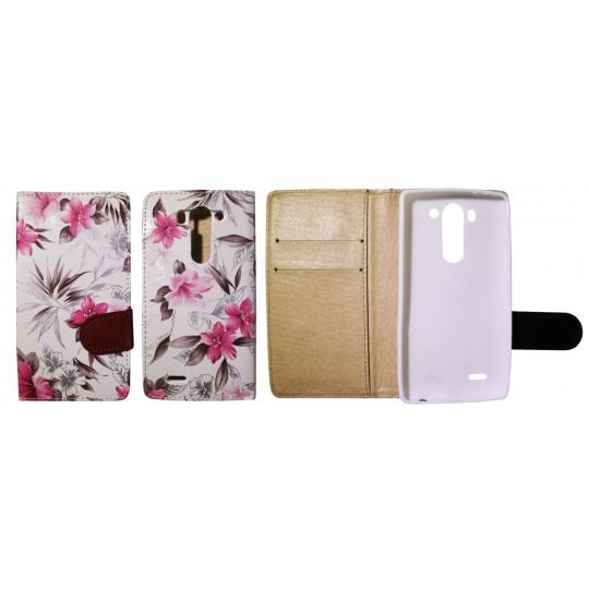 LG G3 S - Preklopna torbica (64) - bela