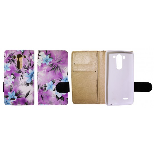 LG G3 S - Preklopna torbica (64) - vijolična