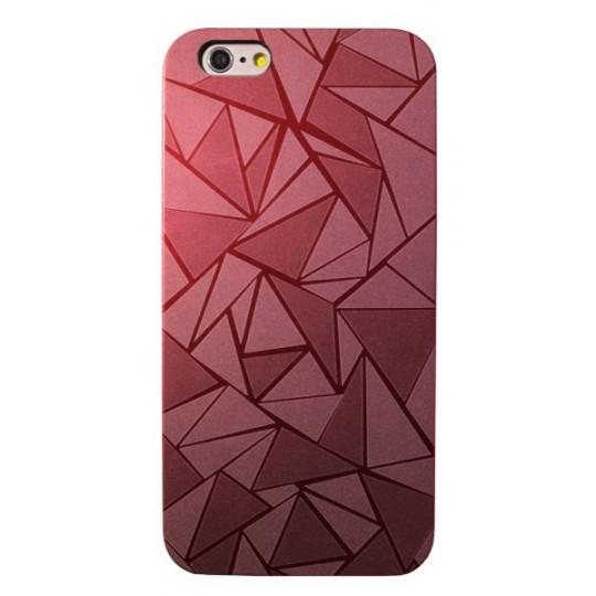 Apple iPhone 6/6S - Okrasni ovitek (44) - rdeč