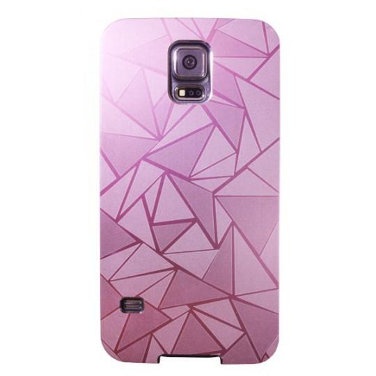 Samsung Galaxy S5/S5 Neo - Okrasni pokrovček (44) - roza