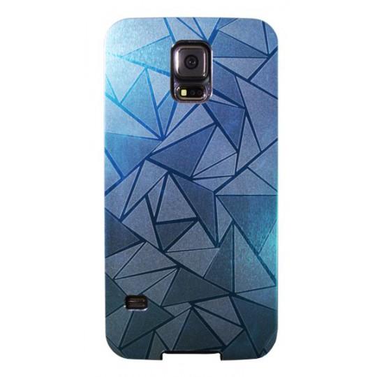 Samsung Galaxy S5/S5 Neo - Okrasni pokrovček (44) - svetlo moder