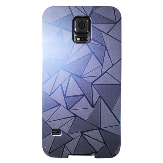 Samsung Galaxy S5/S5 Neo - Okrasni pokrovček (44) - temno moder