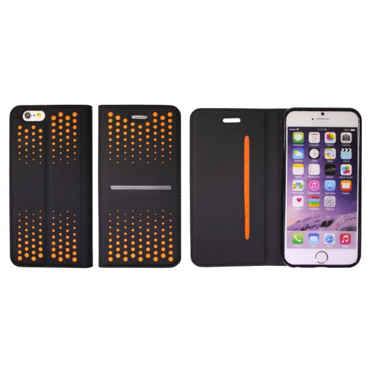 Apple iPhone 6Plus/6SPlus - Preklopna torbica (69) - oranžna