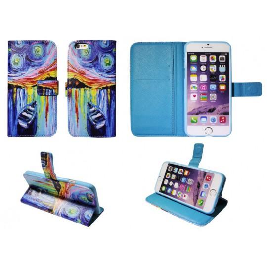 Apple iPhone 6/6S - Preklopna torbica (74) - Čoln