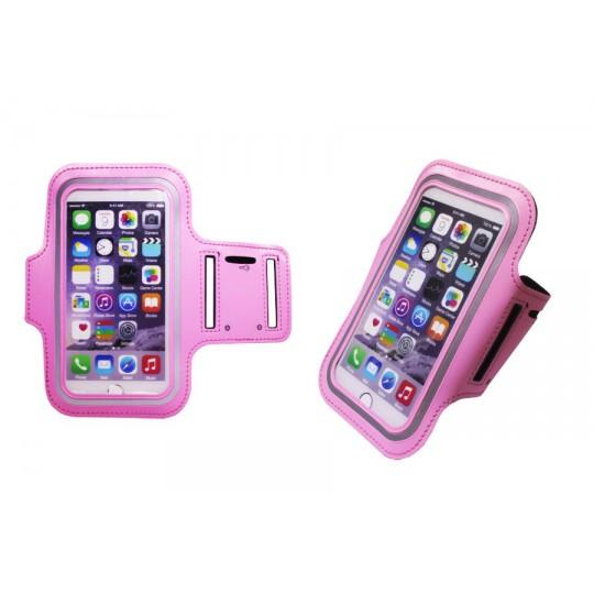 Športna torbica za na roko iPhone 6/6S (PT) - roza