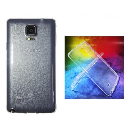Samsung Galaxy Note 4 - Gumiran ovitek (TPUA) - prosojen