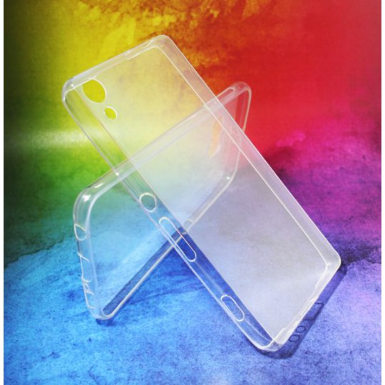 Sony Xperia Z3+ - Gumiran ovitek (TPUA) - prosojen